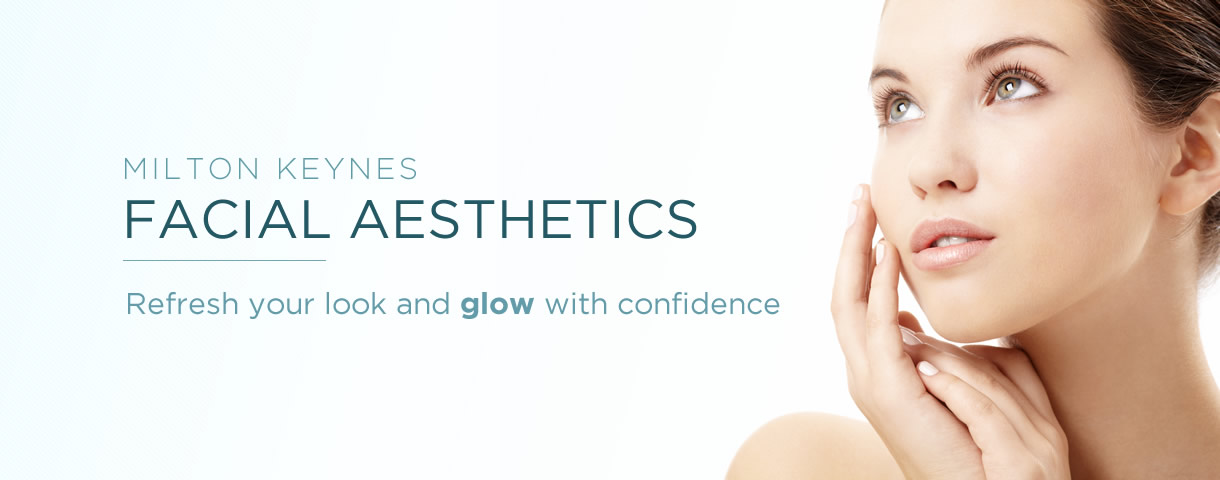Aesthetic facial treatment